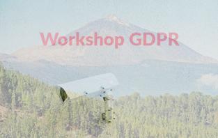 Workshop GDPR - Tenerife