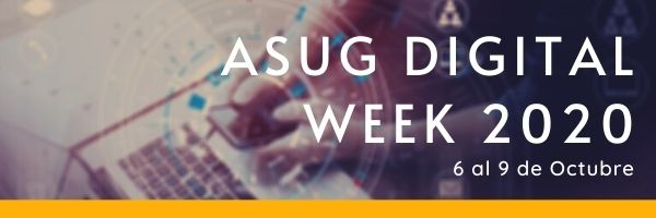 ASUG Digital Week 2020