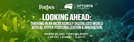 EVERIS - Looking Ahead: Thriving in an Increasingly Digitalized World with AI, Hyper-Personalization and Innovation